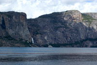 Wapama Falls and the Hetchy Hetchy Dome
