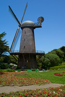 Dutch windmill in Golden gate Park