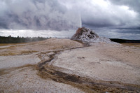 Yellowstone - geysers and pools